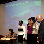 Government of the USA signing the Pacific Cetaceans MoU. Photographer: CMS
